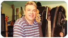 Laurence Cottle, player of GB Guitars